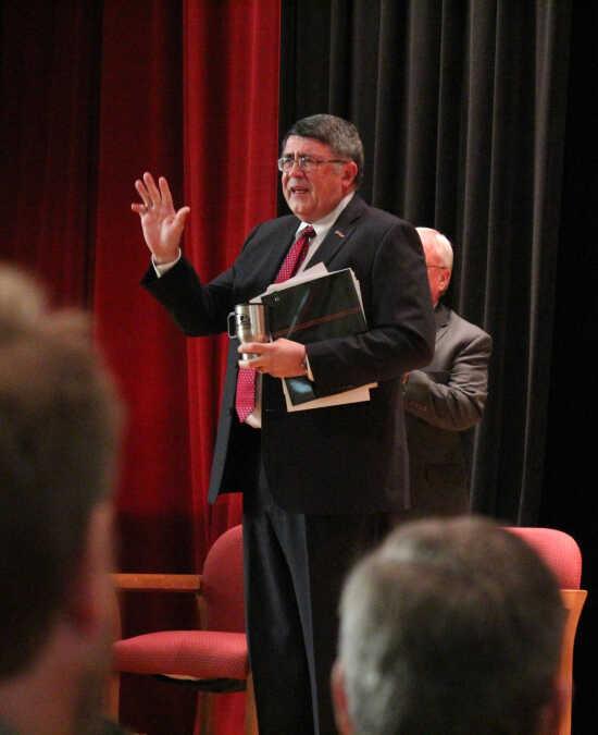President Dobbins announces plans to retire in June