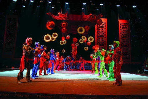 The National Acrobats of the People's Republic of China to perform at Southeast