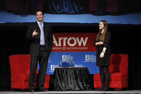 Matheny speaks at Arrow Leadership and Success Summit