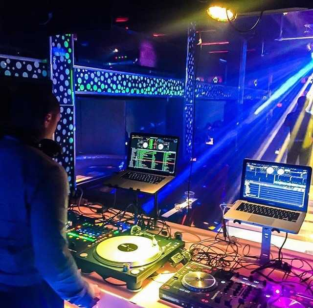 DJ Brandon McWhite; mixing college life with a music career