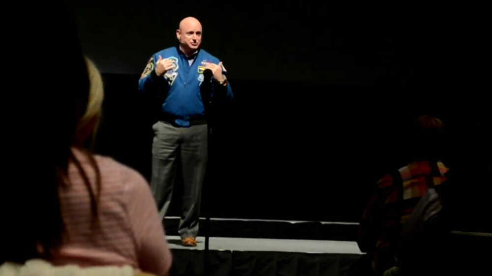 Capt. Scott Kelly first traveled to space, then to Southeast