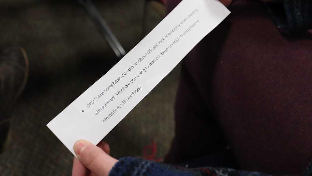 Sexual assault panel provides forum between students, administrators