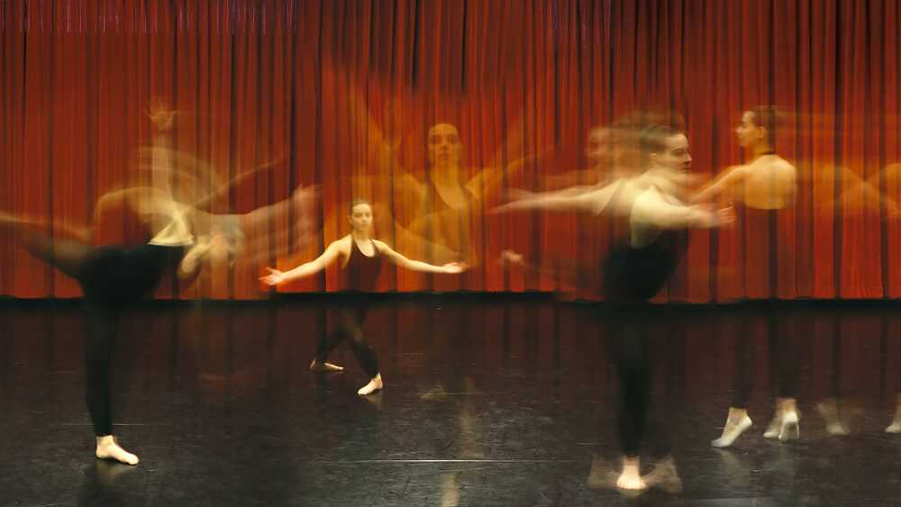 Perpetual motion; a dancer's approach to physics
