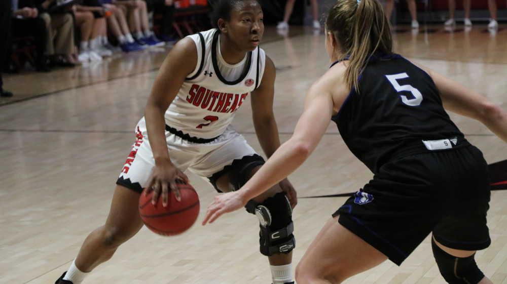 Carrie Shephard of Women's Basketball